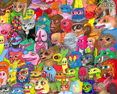 Chief Mag/Matt Furie art # 1