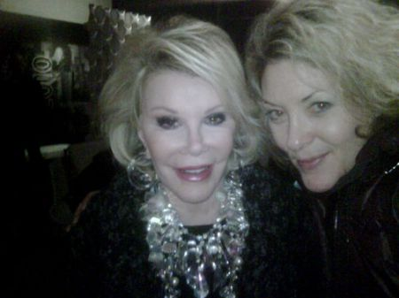 Ondi & Joan Rivers