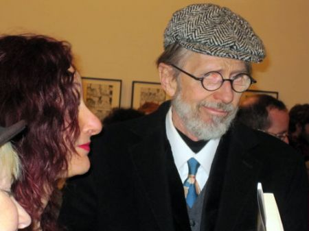 R Crumb at book signing