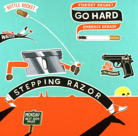 Steve Powers - Stepping Razor