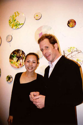 saeko & Bill in 2005