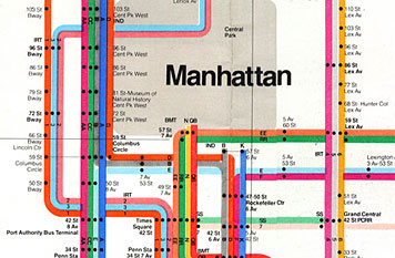 Vignelli's map