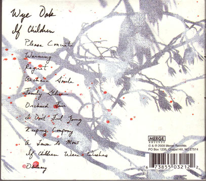 wye oak # 4 - back of CD