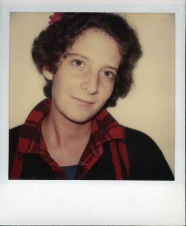 nancy red shirt archival polaroid