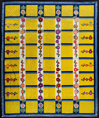 Hooly Hocks quilt