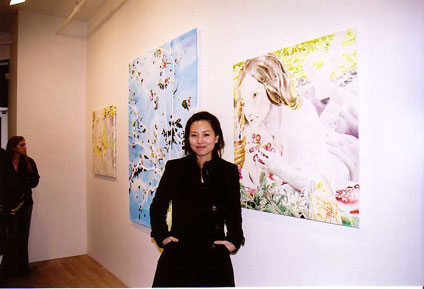 saeko at opening March 23, 2007
