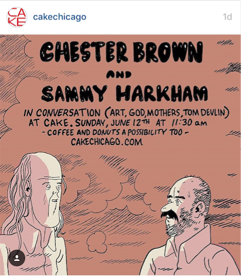 CHESTER-BROWN-and-SAMMY-HARKHAM-CAKE