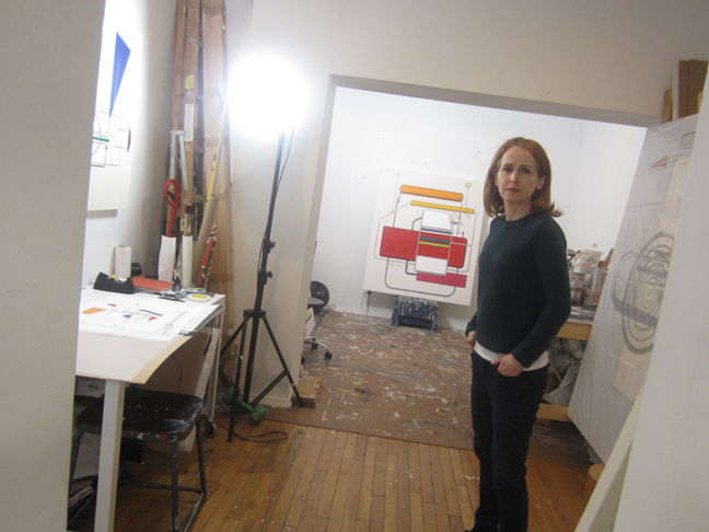 Tricia-Keightley-in-her-studio,-Brooklyn.-Feb-20,-2016