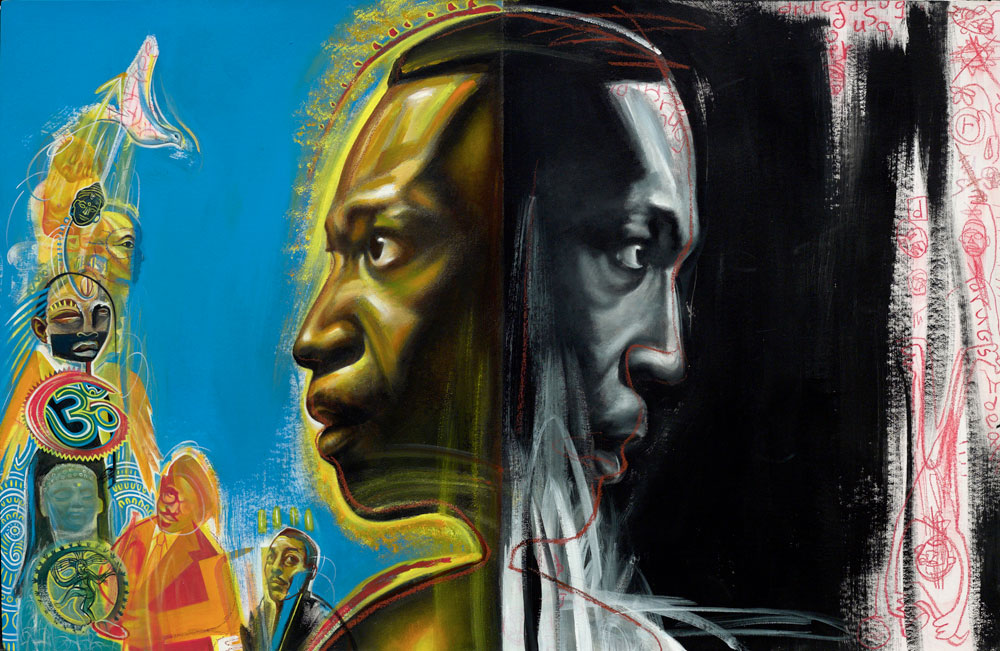 rudy-gutierrez-paints-john-coltrane