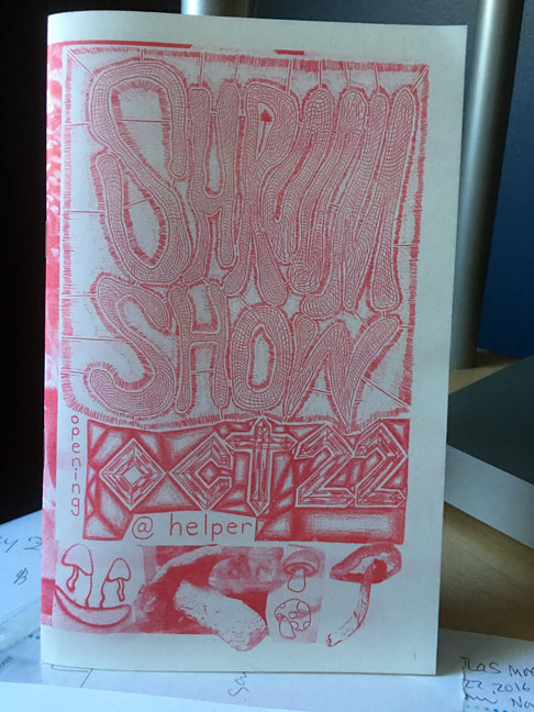 shroom-show-zine-at-helper-projects-brooklyn