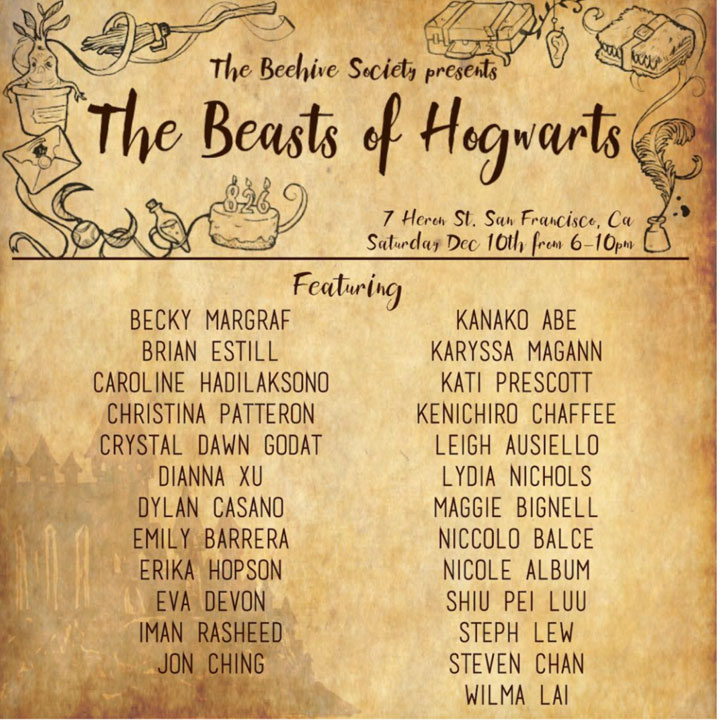 beasts-of-hogwarts-beehive-society