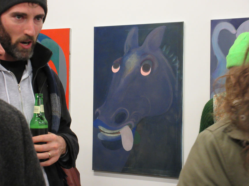 Antone-konst,-head-of-a-horse-painting